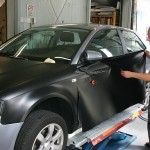 Fahrzeugvollverklebung Audi A3