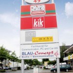 Pylone Buschmann Werbung Trier Luxemburg